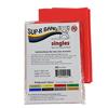 Rehabilitation: Fabrication Enterprises - Sup-R Band® Latex Free Exercise Band - 5 Foot Singles®, Red - Light