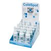 Vitamins OTC Meds Pain Relieving Rub: Fabrication Enterprises - Point Relief® Coldspot™ - Spray Bottle - 4 Ounce - 12-Piece Dispenser W/ Display Box - Case Of 12