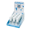 Vitamins OTC Meds Pain Relieving Rub: Fabrication Enterprises - Point Relief® Coldspot™ - Roll-On Applicator - 3 Ounce - 12-Piece Dispenser W/ Display Box - Case Of 12
