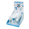 OTC Meds: Fabrication Enterprises - Point Relief® Coldspot™ Lotion - Retail Display with 4 x 3 oz. Spray, 3 oz. Roll-On and 4 oz. Gel