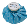 "Rehabilitation: Fabrication Enterprises - Relief Pak® English Ice Cap Reusable Ice Bag - 11"" Diameter"
