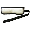 "Rehabilitation: Fabrication Enterprises - Theratemp® Moist Heat Pack - Contour Wrap - Eye/Sinus - 10"" x 3.5"" with 3"" x 27"" Belt and 3"" x 14"" Strap"
