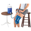IV Supplies Pump Sets: Fabrication Enterprises - AirCast® CryoCuff® - Medium Knee with Gravity Feed Cooler
