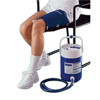 Diabetes Syringes Pump Sets: Fabrication Enterprises - AirCast® CryoCuff® - Thigh with Gravity Feed Cooler