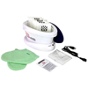 Fabrication Enterprises WaxWel® Paraffin Bath - Standard Unit Includes: 100 Liners, 1 Mitt, 1 Bootie and 6 lb. Lavender Paraffin FNT 11-1604