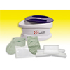Fabrication Enterprises WaxWel® Paraffin Bath - Standard Unit Includes: 100 Liners, 1 Mitt, 1 Bootie and 6 lb. Citrus Paraffin FNT 11-1605