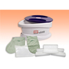 Fabrication Enterprises WaxWel® Paraffin Bath - Standard Unit Includes: 100 Liners, 1 Mitt, 1 Bootie and 6 lb. Peach Paraffin FNT 11-1606