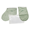 Fabrication Enterprises WaxWel® Paraffin Bath - Accessory Package - 50 Liners, 1 Mitt and 1 Bootie Only FNT 11-1710