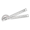 Fabrication Enterprises Baseline® Plastic Goniometer - Pocket Style - HiRes™ 180 Degree Head - 6 Arms FNT 12-1005HR