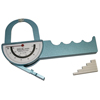 Diagnostic Accessories Calipers: Fabrication Enterprises - Baseline® Medical Skinfold Caliper - Deluxe Dual-Sided Model