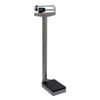 Fabrication Enterprises Detecto® Eye-Level Scale - 338 Mobile Analog Beam Scale 400 lb. / 175 kg - with Height Rod and Wheels FNT 12-1352