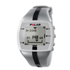 Pressure Monitoring Blood Pressure Monitors: Fabrication Enterprises - Heart Rate Monitor Watch - Polar® FT4M - Silver/Black - for Male