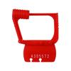 Fabrication Enterprises Detecto, Plastic Seals, Red, Pack of 50 FNT 12-2397