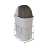 Fabrication Enterprises Detecto, Waste Bin with Accessory Rail for Whisper Cart FNT 12-2413