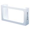 Fabrication Enterprises Detecto, Glove Box Holder, Wall Mount, 3 Boxes, White FNT 12-2427