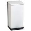 Fabrication Enterprises Detecto, Step-On Can, 100 Qt, White FNT12-2439