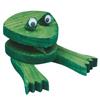 Fabrication Enterprises Allen Diagnostic Module Frog Note Holder, Pack of 12 FNT 12-3167