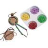 Pizza Supplies Pizza Circles: Fabrication Enterprises - Allen Diagnostic Module Leather Key Fob, Pack of 6