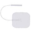 Fabrication Enterprises AdvanTrode® Essential Electrode, 2 Square, White, 40/BX FNT 13-1240-10