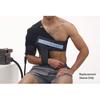 "Rehabilitation: Fabrication Enterprises - Game Ready® Additional Sleeve - Upper Extremity - Right Shoulder - Large (40-55"" Chest)"