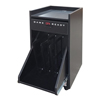 Fabrication Enterprises Game Ready 3-Rack Treatment Cart - Black FNT 13-2640