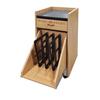 Fabrication Enterprises Game Ready 3-Rack Treatment Cart - Oak FNT 13-2642