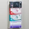 Fabrication Enterprises Clinton, Glove Box Holder, Quad Horizontal Wire FNT 13-3464