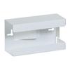Fabrication Enterprises Clinton, Glove Box Holder, Single White Steel FNT 13-3471