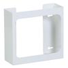Fabrication Enterprises Clinton, Glove Box Holder, Double White Steel FNT 13-3472