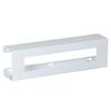 Fabrication Enterprises Clinton, Glove Box Holder, Double Slimline White Steel FNT 13-3473