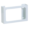 Fabrication Enterprises Clinton, Glove Box Holder, Triple White Steel FNT 13-3474
