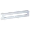 Fabrication Enterprises Clinton, Glove Box Holder, Triple Slimline White Steel FNT 13-3475