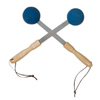 Rehabilitation: Fabrication Enterprises - Bongers Percussion Massager, Blue, Pair
