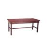 Fabrication Enterprises Wooden Treatment Table - H-Brace, Upholstered, 72 L X 24 W X 30 H FNT 15-1000