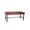 Fabrication Enterprises Wooden Treatment Table - H-Brace, Upholstered, 72 L X 30 W X 30 H FNT 15-1002