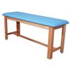 Fabrication Enterprises Classic H-Brace Exam Table Light Blue FNT15-1006LB
