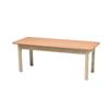 Fabrication Enterprises Wooden Treatment Table - Standard, Upholstered, 72 L X 30 W X 30 H FNT 15-1012