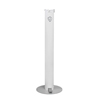 Fabrication Enterprises Pedal Activated Hand Sanitizer Stand, Smaller Round Unit (For 8 oz.-32 oz. Containers) FNT 15-1120