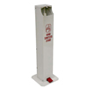 Fabrication Enterprises Pedal Activated Hand Sanitizer Stand, Square Unit (For Gallons) FNT 15-1121