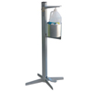 Fabrication Enterprises Pedal Activated Hand Sanitizer Stand, Industrial FNT 15-1122
