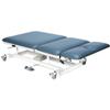 Fabrication Enterprises Bariatric Treatment Table - Hi-Low, 76 L X 36 W X 22 - 38 H, 3-Section, Castors, 800 Lb. Weight Capacity FNT 15-1511