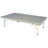 Fabrication Enterprises Bariatric Mat Platform Table - Electric Hi-Low, Steel Frame, 84 L X 48 W X 20 - 30 H , 900 Lb. Weight Capacity FNT 15-1554