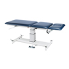 Fabrication Enterprises Armedica Treatment Table - Motorized Pedestal Hi-Lo, 3 Section, Fixed Cntr. Section FNT 15-1740