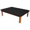 Clean and Green: Fabrication Enterprises - Mat Platform Table 4 1/2 x 6 ft. Black