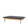 Fabrication Enterprises Wooden Platform Table - Wall Mounted, Folding, Upholstered, 7 X 5 X 21 FNT 15-2063