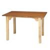 Fabrication Enterprises Work Table, OT model with cutout, 48 L x 30 W x 30 H FNT 15-3261