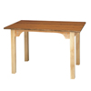 Fabrication Enterprises Work Table, OT model with cutout, 72 L x 36 W x 30 H FNT 15-3283