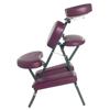 Fabrication Enterprises Portable Massage Chair - Burgandy FNT 15-3730BUR