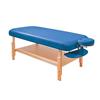 Fabrication Enterprises Basic Stationary Massage Table Blue FNT 15-3740B
