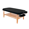 Fabrication Enterprises Basic Stationary Massage Table Black FNT 15-3740BLK